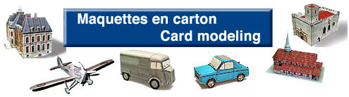 Card Models Maquettes En Carton